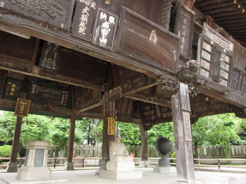 成田山新勝寺額堂