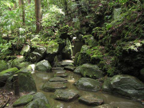 成田山公園雌滝