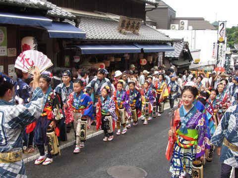 花崎町の稚児行列