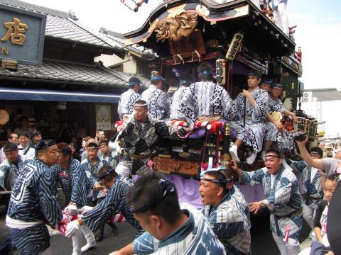 花崎町の山車