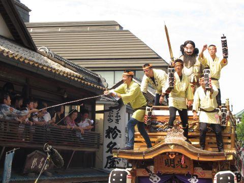 田町の山車