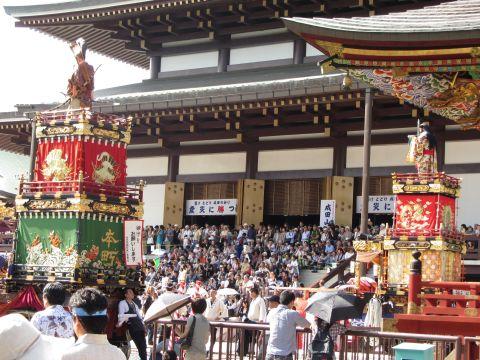 山車・屋台競演(総踊り)