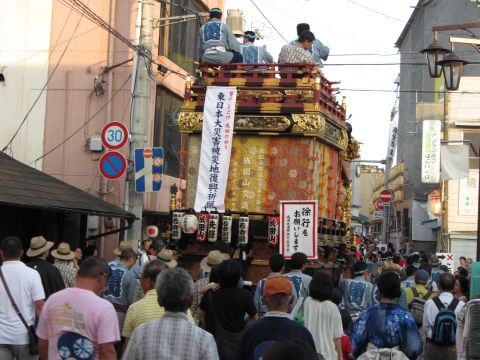 成田山交道会の山車