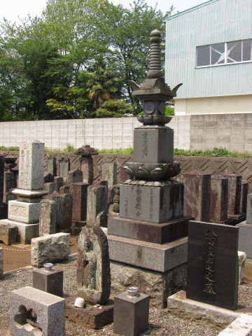 大和田長妙寺・八百屋お七の墓