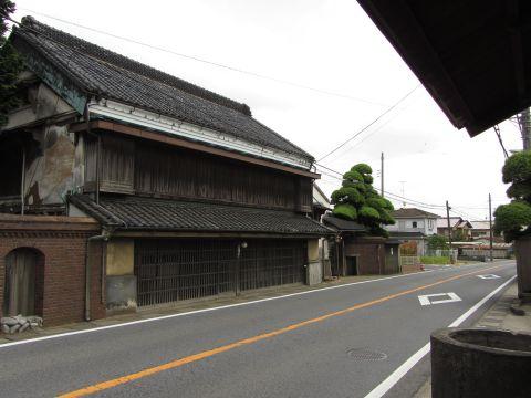 酒々井宿の旧商家