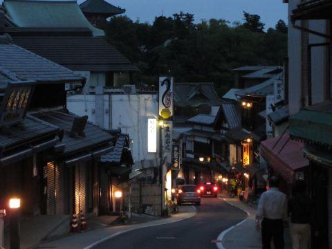 成田山新勝寺表参道夜景