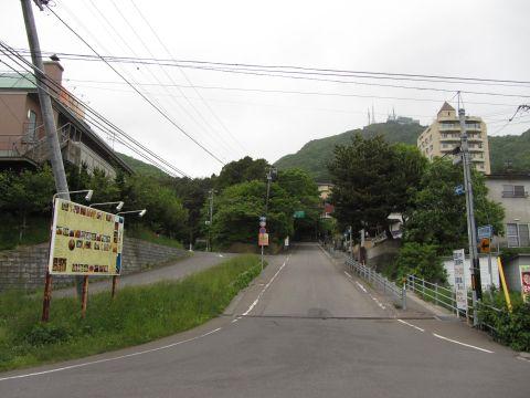 函館山登山口