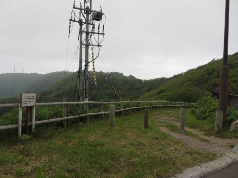 函館山旧登山道入口