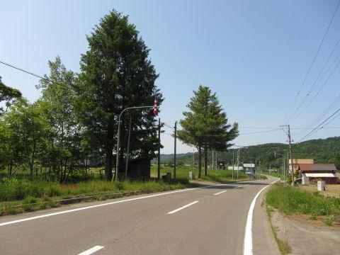 三渓の集落