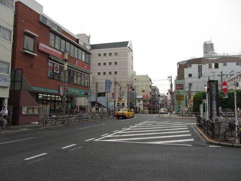 旧中山道 板橋駅前付近