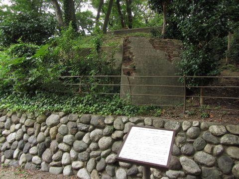 加賀公園・弾道検査管の標的