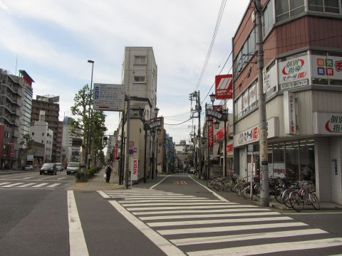 下頭橋通り(旧川越街道)