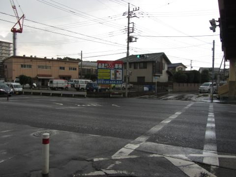 笹目通り・大坂通りの交差点