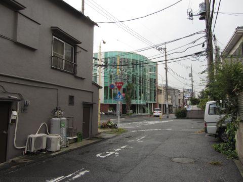 朝霞市栄町の旧道