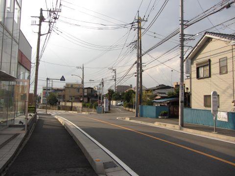 埼玉県道109号 朝霞市幸町