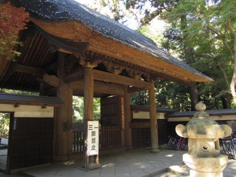 平林寺総門