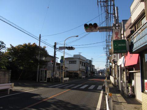 県道109号 大和田小学校前