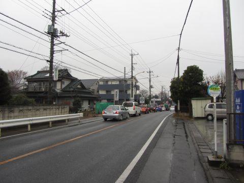 大井宿 大井坂上バス停