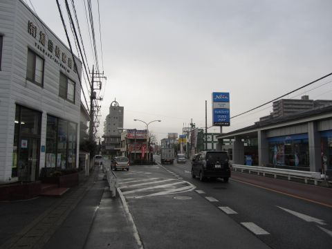 国道254号 富士見市勝瀬