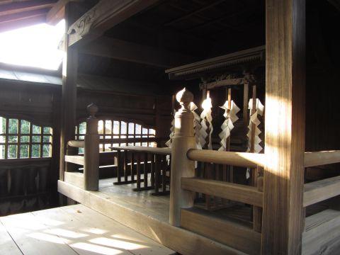 砂新田春日神社本殿
