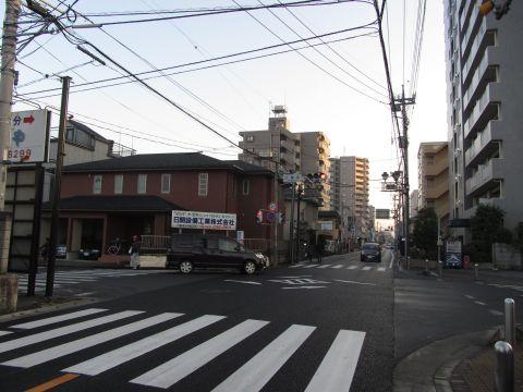 埼玉県道39号 三番町交差点