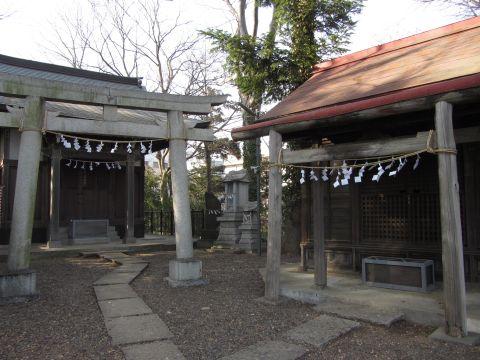 富士見櫓御嶽神社・浅間神社
