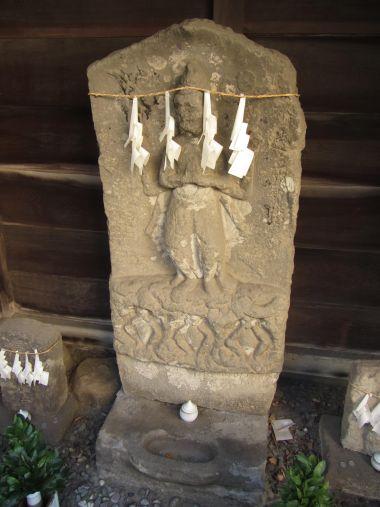 砂新田の庚申塔
