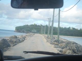 島と島と結ぶ道路!