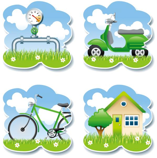 Ecology green themes