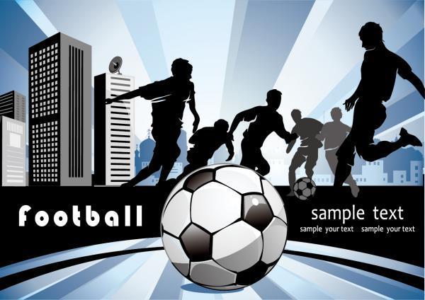 Football Players Sports Design5