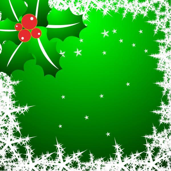 松葉と星で描くクリスマスの背景 Snowflake Star Matsuba, Christmas Vector material