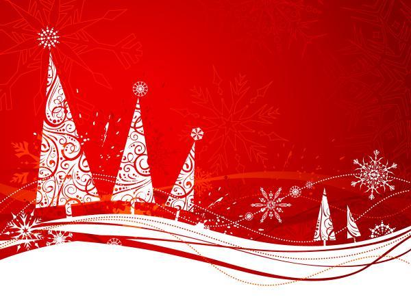 雪の結晶で模ったクリスマス・ツリー SIMPLE CHRISTMAS TREE SNOWFLAKE