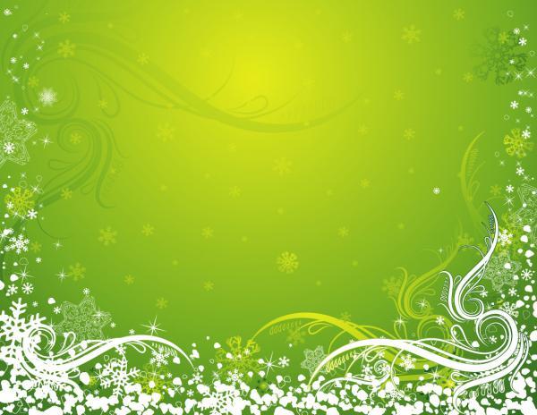 雪の結晶で描いたクリスマスの背景 CHRISTMAS SNOWFLAKE PATTERN:Free Vector 4 You