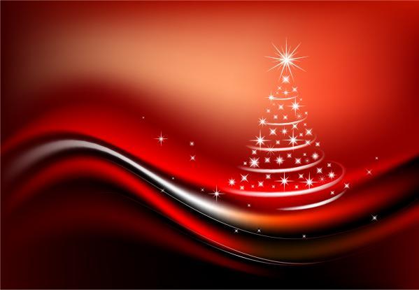 輝く星のクリスマス・ツリー STARLIGHT CHRISTMAS TREE VECTOR