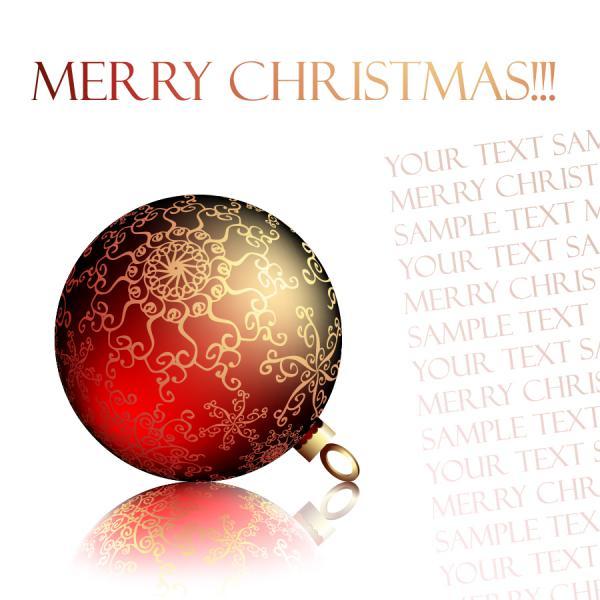 クールなクリスマス飾りの背景 christmas ornaments beautiful background1