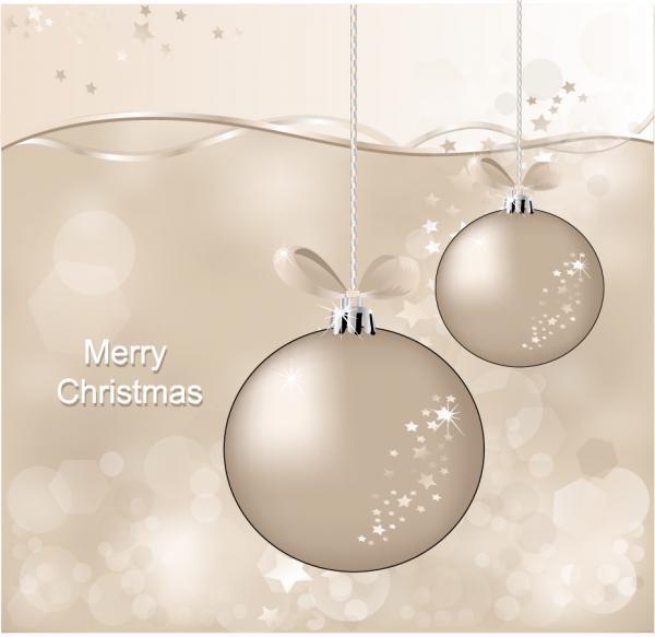 クリスマス ハンギング ボール christmas ball vector1