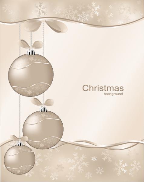 クリスマス ハンギング ボール christmas ball vector2