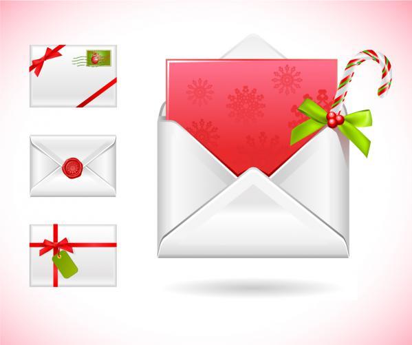 クリスマス メッセージ カード vector christmas message