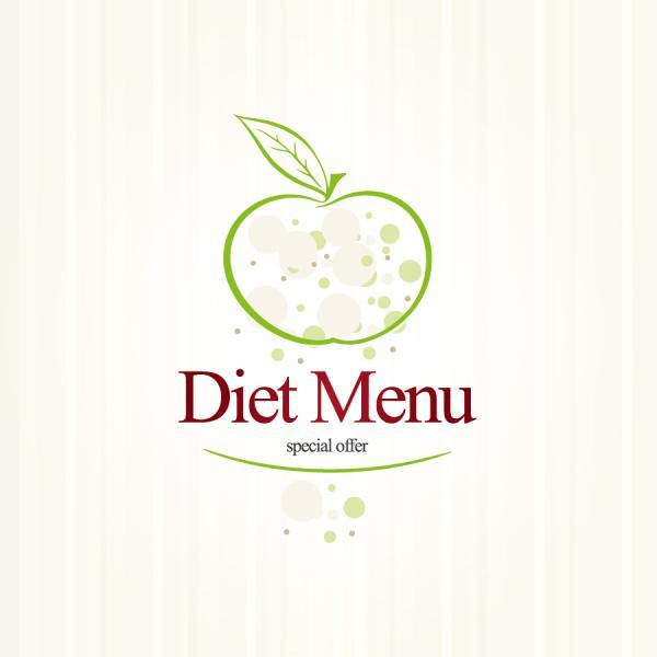 パステルカラーのメニュー デザイン pastel colors restaurant menu designs3
