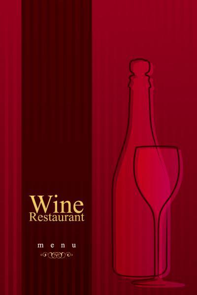 パステルカラーのメニュー デザイン pastel colors restaurant menu designs4