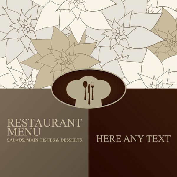 パステルカラーのメニュー デザイン pastel colors restaurant menu designs1