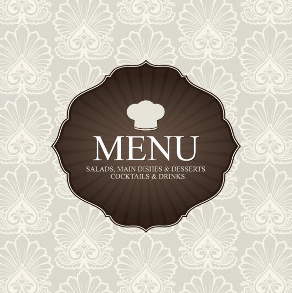 パステルカラーのメニュー デザイン pastel colors restaurant menu designs2