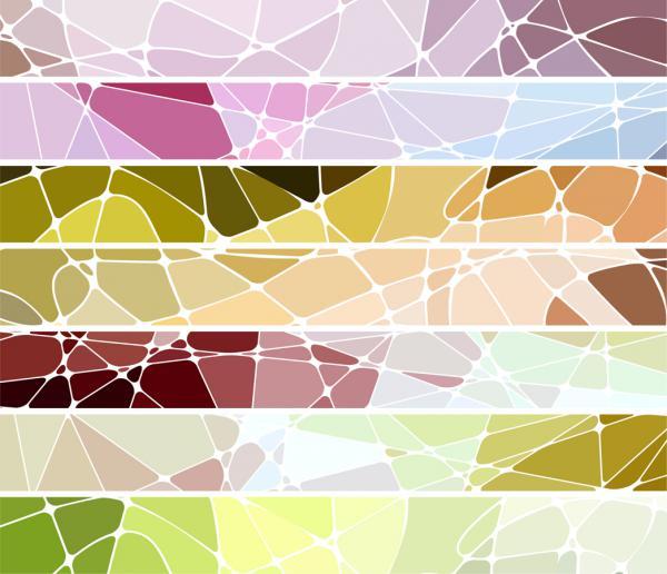 幾何学的なモザイクのテクスチャ geometric mosaic texture vector