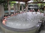 外の大浴場(泥)