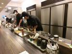 全力オープンキッチン