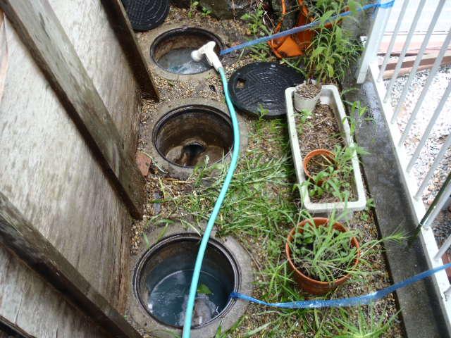 排水設備漏水調査