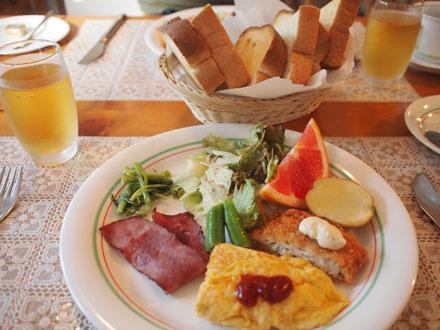23日の朝ご飯