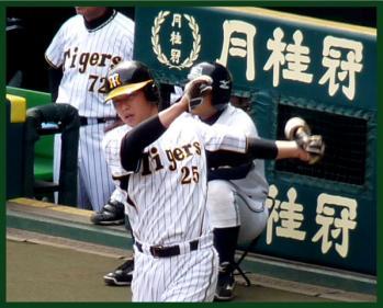 絵日記5・17甲子園新井