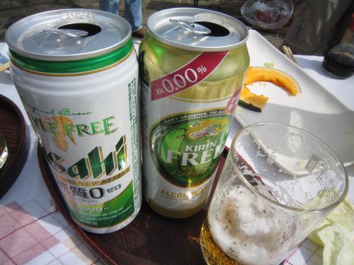 0.00ノンアルコールビールで乾杯