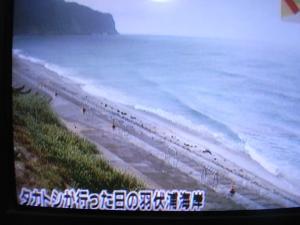 荒れた日本海?